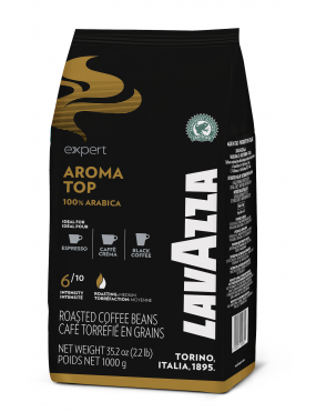 cafe grain lavazza aroma top